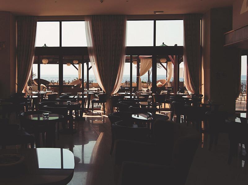 Tende per ristoranti