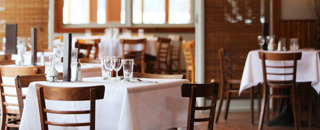 Biancheria per ristoranti, bar, osterie,