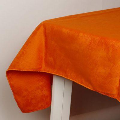 Tovaglia antimacchia Oriente - arancio
